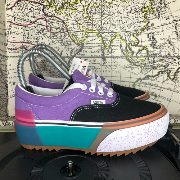 Vans Shoes | Vans Era Stacked Confetti